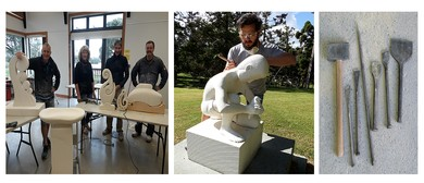 GJH4: Oamaru Stone Sculpture with Gregory James: CANCELLED