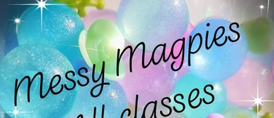 Messy Sensory Play Classes Messy Magpies