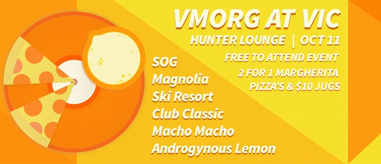 VMorg - Hunter Lounge End of Semester Party