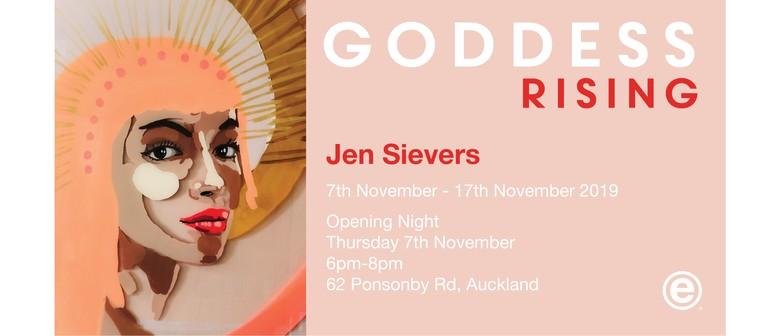 Goddess Rising by Jen Sievers