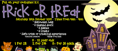 Trick or Treat Halloween Event