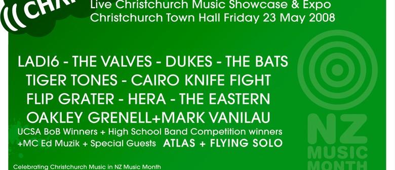 Chartfest: Live Christchurch Music Showcase/Expo