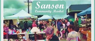 Sanson Community Market