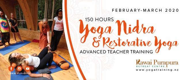 Yoga Nidra & Restorative Yoga - Advanced Teacher Training