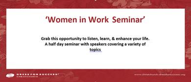 Women in Work Seminar