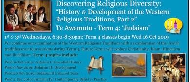 Te Awamutu: Discovering Religious Diversity: Judaism