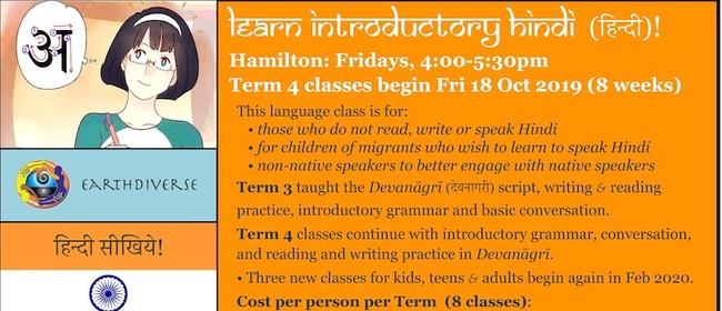 Hindi Language Class