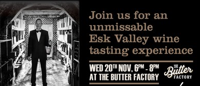 Wine Tasting & Talk With Esk Valley