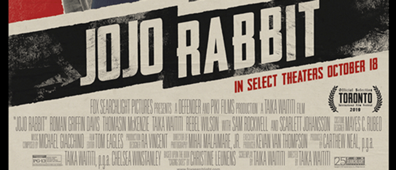 Jojo Rabbit - Wellington Pride Festival Movie Fundraiser