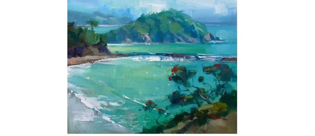 Wine and Paint Party - Coromandel Beach Painting (BYO)
