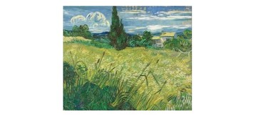 Wine and Paint Party - Van Gogh's Wheat Field with Cyprus