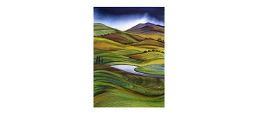 Wine and Paint Party - Rolling Hills Painting (BYO)