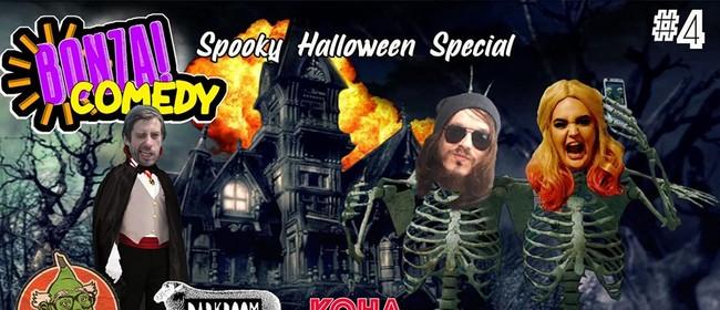 Bonza Comedy #4 - Spooky Halloween Special