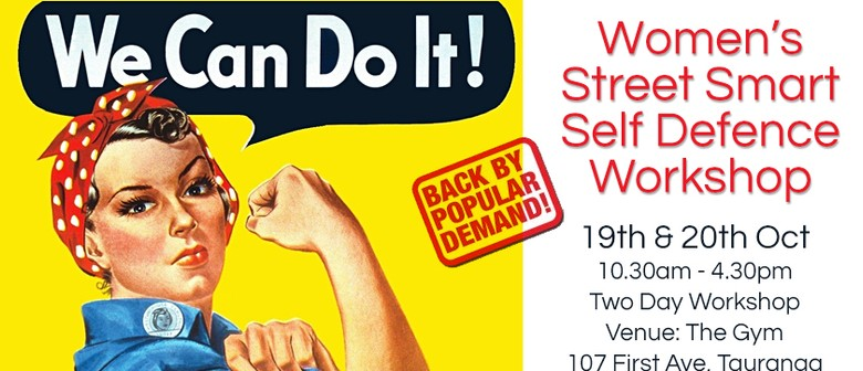 Women's Street Smart Self Defence Workshop