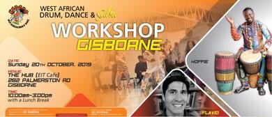 West African Drum, Dance and Salsa Workshop in Gisborne
