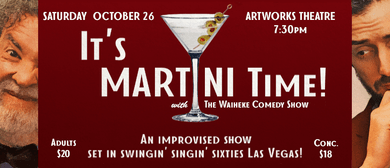 Its Martini Time!