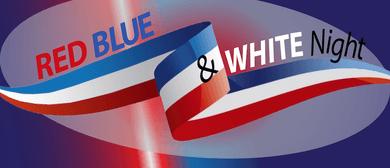 Red, Blue & White Night