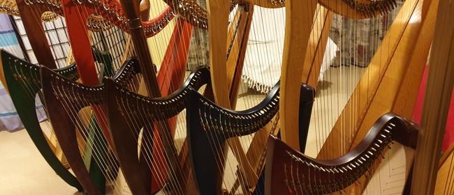 Harmonie Harp Orchestra Performance