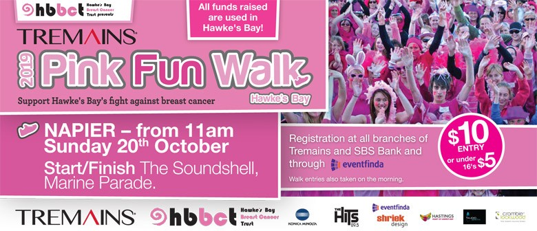The Tremains Pink Fun Walk