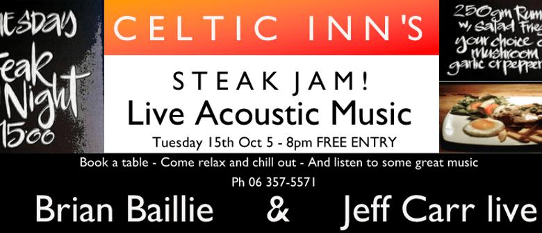 Celtic Inn's Steak Jam ft. Brian Baillie & Jeff Carr