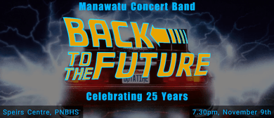 Manawatu Concert Band - Celebrating 25 Years!