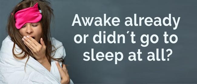Awake already or didn't go to sleep at all?