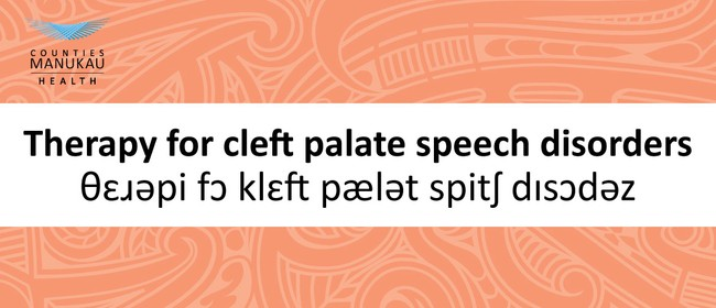 Seminar for Speech Language Therapists - Cleft Palate
