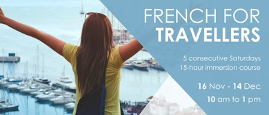 French for Travellers - November Workshop