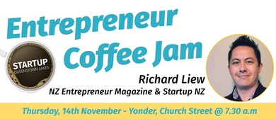 Entrepreneur Coffee Jam featuring NZ Entrepreneur Magazine