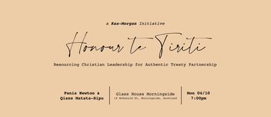 Honour Te Tiriti