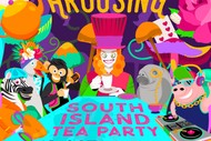 Image for event: Strangely Arousing & Rezzy Crookz - South Island Tea Party