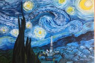 Image for event: Paint & Chill Night - Van Gogh's Starry Night