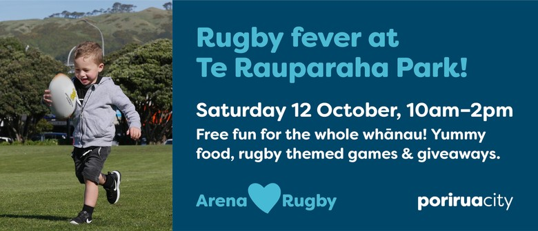 Rugby Fever at Te Rauparaha Arena