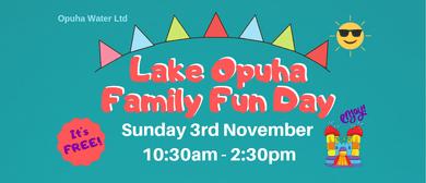 Lake Opuha Family Fun Day