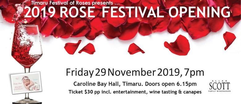 Rose Festival Opening Function & Wine Tasting