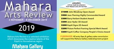 2019 Mahara Arts Review Opening & Award Presentation
