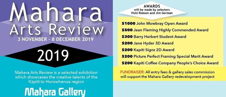 2019 Mahara Arts Review Exhibition