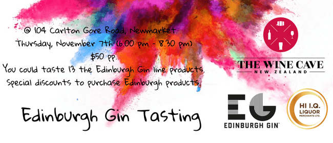 Edinburgh Gin Tasting @ The Wine Cave