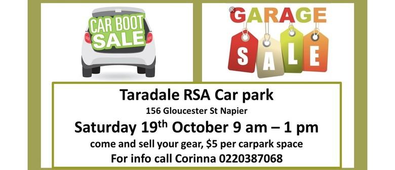 Taradale RSA Community Carboot/Garage Sale