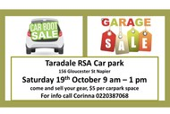 Taradale RSA Community Carboot/Garage Sale