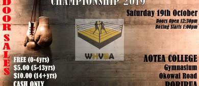 Amateur Novice Boxing Champions 2019
