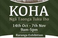 Image for event: Koha - Ngā Taonga Tuku Iho