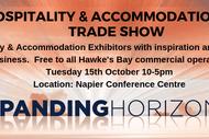 Trade Show - Hospitality & Accomodation