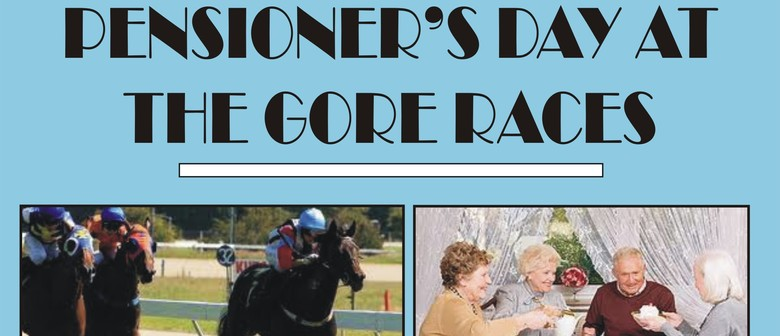 Pensioners Day at the Gore Races