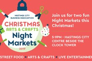 Hastings City Christmas Arts & Crafts Night Market