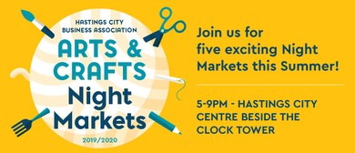 Hastings City Arts & Crafts Night Market