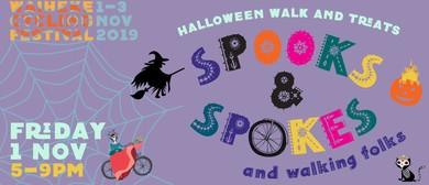 Spooks & Spokes & Walking Folks