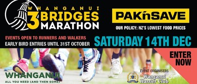 Pak'nSave Whanganui 3 Bridges Marathon (and Other Events)
