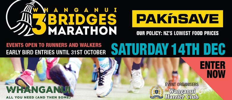 Pak'nSave Whanganui 3 Bridges Marathon (and Other Events)