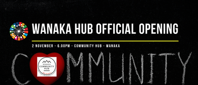 ONE - Wanaka Community Hub Opening Cocktail Function